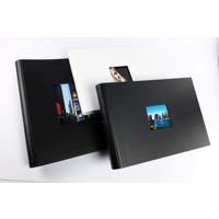 A4 Deluxe Photo Book - Black