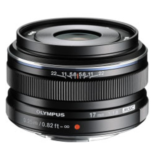 Olympus-M. Zuiko Digital 17mm f1.8 Lens - Black-Lenses - SLR & Compact System