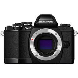 Olympus-E-M10 OM-D System Camera with M.Zuiko 14-42mm and M.Zuiko ED 40-150mm Lenses-Digital Cameras