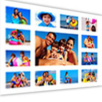 12x18'' white background with 13 images