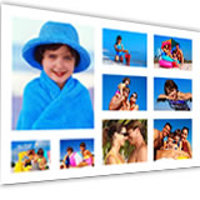 8x12'' white background with 9 images