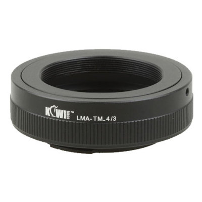 Kiwi Fotos-Camera Mount Adapter - T-Mount to Four Thirds-Lens Converters & Adapters