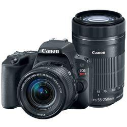 Canon-EOS Digital Rebel SL2 DSLR Camera with EF-S 18-55mm IS STM and 55-250mm IS STM Lens-Digital Cameras