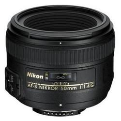 Nikon-AF-S 50mm NIKKOR F/1.4G-Lenses - SLR & Compact System