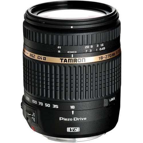 Tamron-18-270mm F3.5-6.3 Di II VC PZD with Piezo Drive AF Canon Mount-Lenses - SLR & Compact System