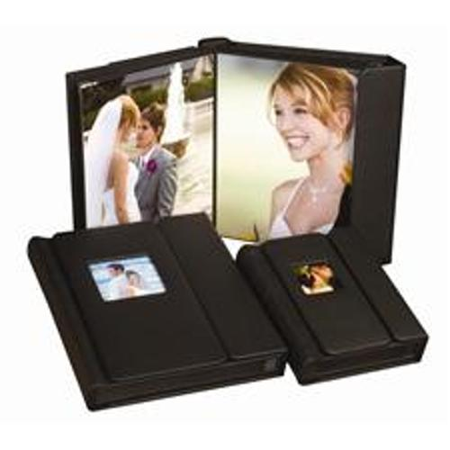 Pro Photo Album - 2.5x3.5 Black