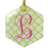 Glass Ornament - Diamond
