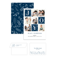 Joyful Christmas<br>5x7 Double Sided<br>Envelope