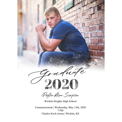 Graduation Announcement (20-005F1)