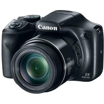 Canon-PowerShot SX540 HS Digital Camera - Black-Digital Cameras