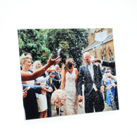 6x4 Gloss White Metal Print