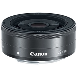 Canon-EF-M 22mm f/2 STM-Lenses - SLR & Compact System