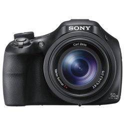 Sony-DSC-HX400 Cyber-shot Digital Camera - Black-Digital Cameras