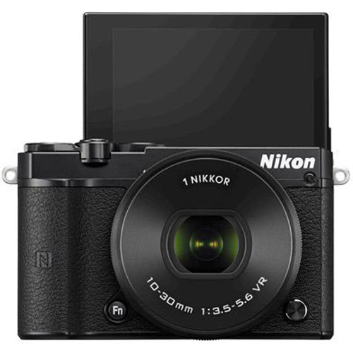 Nikon-1 J5 Advanced Interchangeable Lens Camera with 1 Nikkor VR 10-30mm PD Zoom Lens-Digital Cameras