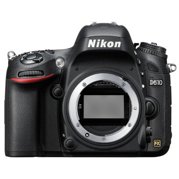 Nikon-D610 DSLR Camera - Body Only - Black-Digital Cameras