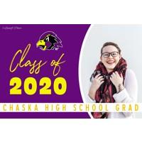 Large Chaska High School Graduation Banners