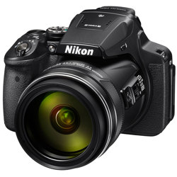 Nikon-CoolPix P900 Digital Camera with built-in Wi-Fi-Digital Cameras