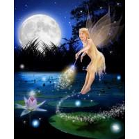 Lilypad Flying Fairy + 8x10'' Print