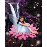 Magical Jungle Fairy + 8x10'' Print
