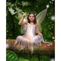 Jungle Log Fairy + 8x10'' Print