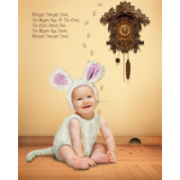 Hickory Dickory Dock + 8x10-inch Print