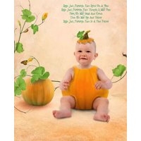 Little Jack Pumpkin + 8x10-inch Print