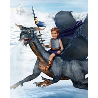 Wind Dragon (No Armour) + 8x10'' Print