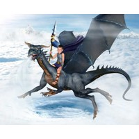 Wind Dragon (Full) + 8x10'' Print