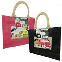 Jute Photo Fashion Bags - Jute Photo Fashion Bags 4x6