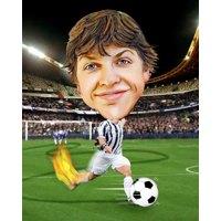 Football Male + 8x10'' Print
