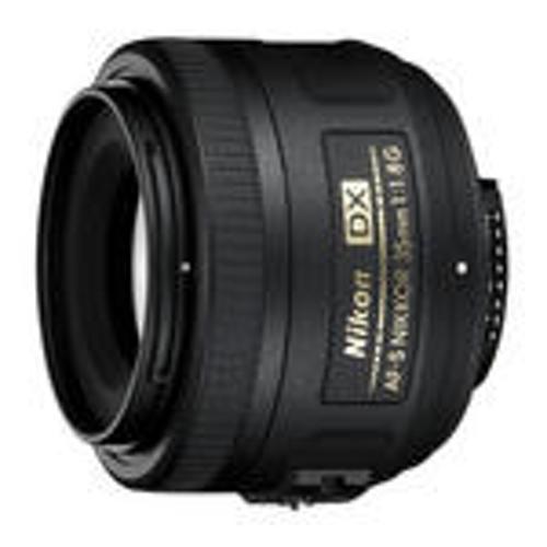 Nikon-AF-S 35mm DX NIKKOR F1.8G-Lenses - SLR & Compact System