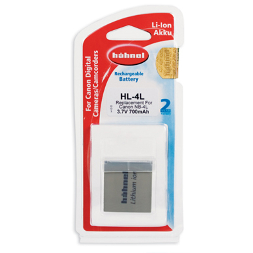Hähnel-HL-4L Replacement Battery for Canon NB-4L-Battery Packs & Adapters