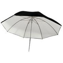 "ProMaster-Professional Series Black - White Umbrella 45"" #9216-Light Tents, Softboxes, Reflectors and Umbrellas"