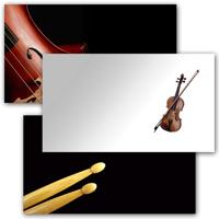 Custom Music Business Cards