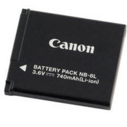 Canon-NB-8L Battery Pack-Battery Packs & Adapters