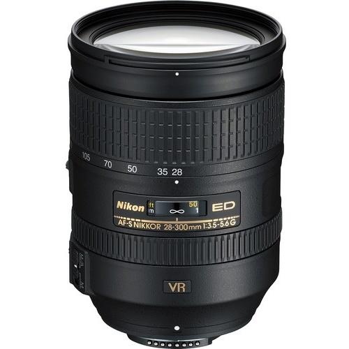 Nikon-AF-S 28-300mm F3.5-5.6G ED VR-Lenses - SLR & Compact System