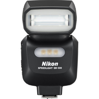 Nikon-SB-500 AF Speedlight-Flashes and Speedlights