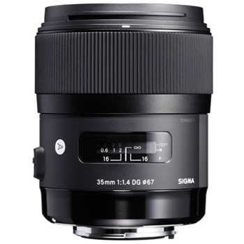 Sigma-35mm F/1.4 DG HSM Lens for Canon-Lenses - SLR & Compact System