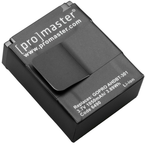 ProMaster-AHDBT-301 XtraPower Lithium Ion Replacement Battery for Go Pro #6490-Battery Packs & Adapters