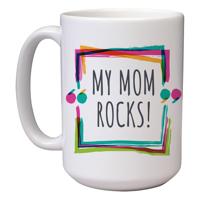 15 oz Ceramic Mom Mug (J)