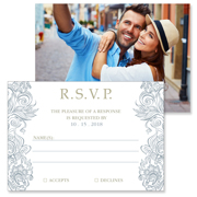 Classy - 2 Sided RSVP  4x5