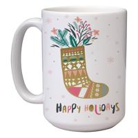 15 oz Christmas Mug (A6) Wrap
