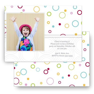 Cardstock 2 sided 5X7 Freestyle back