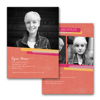 5x7 2 Sided Graduation Card (16-031)