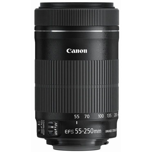 Canon-EF-S 55-250mm F4.0-5.6 IS STM-Lenses - SLR & Compact System