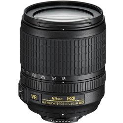 Nikon-AF-S 18-105mm DX Zoom Nikkor f/3.5-5.6G ED VR-Lenses - SLR & Compact System