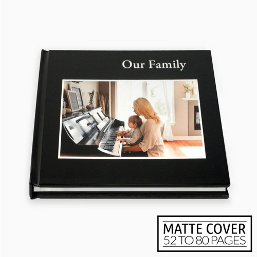 8x8 Classic Image Wrap Hard Cover / Matte Cover (52-80 pages)
