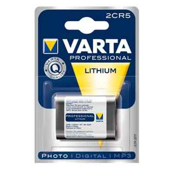 Varta-System Lithium 2CR5-Batteries