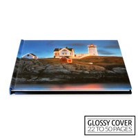 11x8½ Classic Image Wrap Hard Cover / Glossy Cover (22-50 pages)