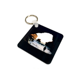 Square Photo Keychain (2-sided)